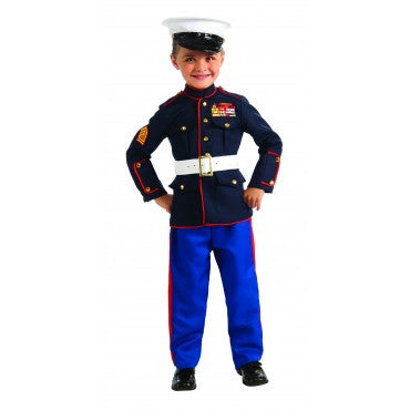 Boys Marine Dress Blues Costume