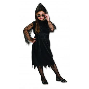 Girls Gothic Lace Vampiress Costume