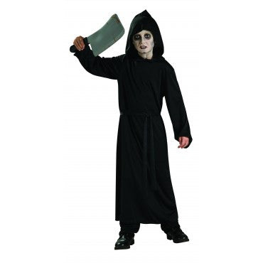 Kids Black Horror Robe