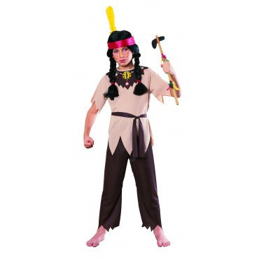 Boys Native American Warrior Costume