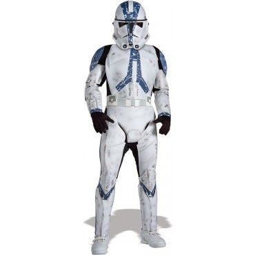 Boys Star Wars Deluxe Clone Trooper Costume