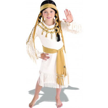 Girls Native American Princess Costume
