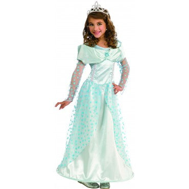 Girls Blue Star Princess Costume