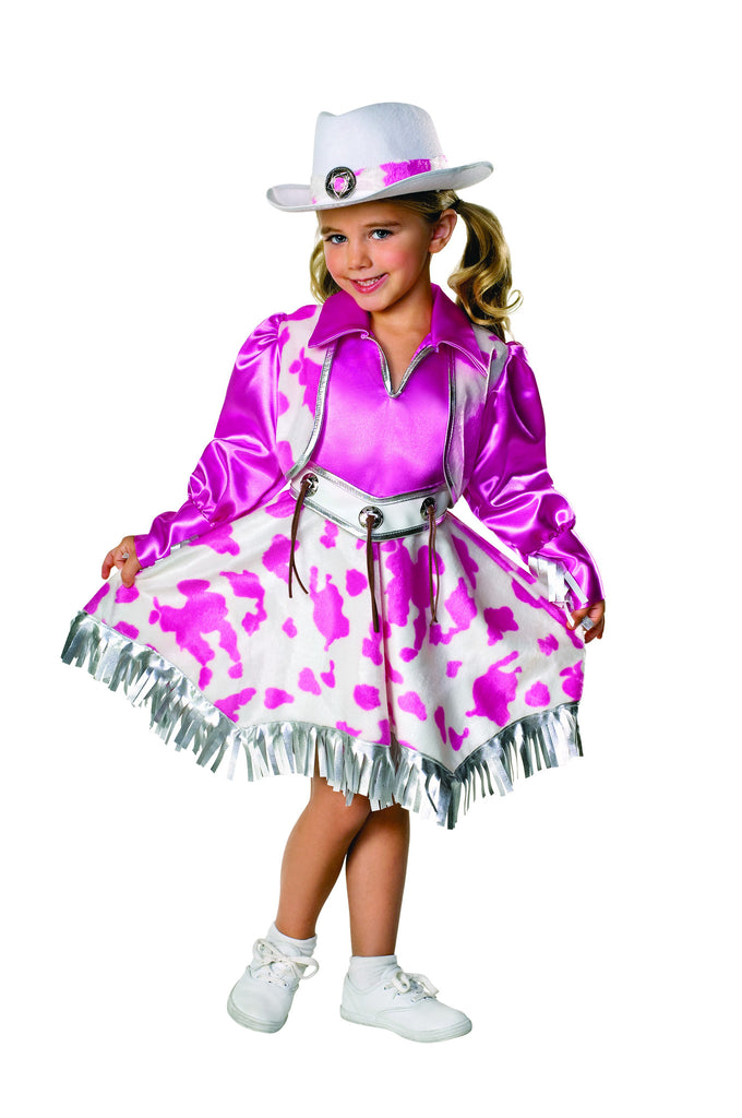 Toddlers/Kids Western Diva Costume