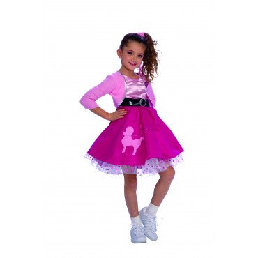 Girls Fifties Girl Costume