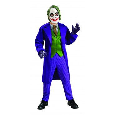 Boys Batman Deluxe The Joker Costume