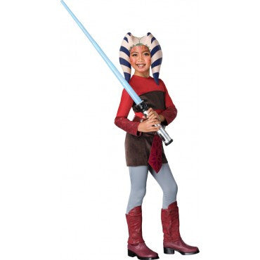 Girls Star Wars Ahsoka Costume