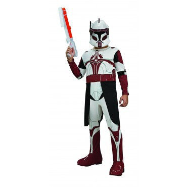 Kids Star Wars Clone Trooper Commander Fox Costume