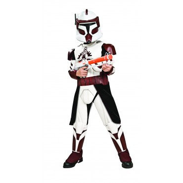 Boys Star Wars Deluxe Commander Fox Costume