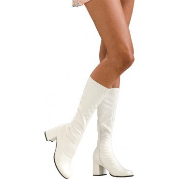 Retro Knee High Boots - Various Colors