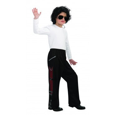 Boys Michael Jackson Buckle Pants