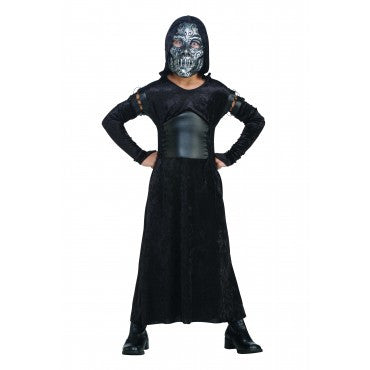 Girls Harry Potter Bellatrix Death Eater Costume