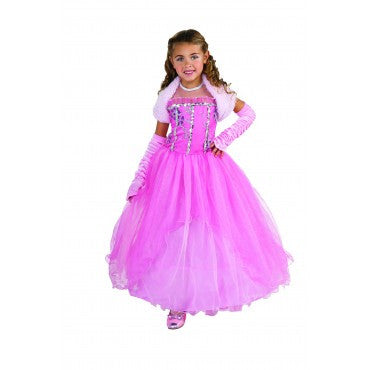 Girls Princess Shirley Costume