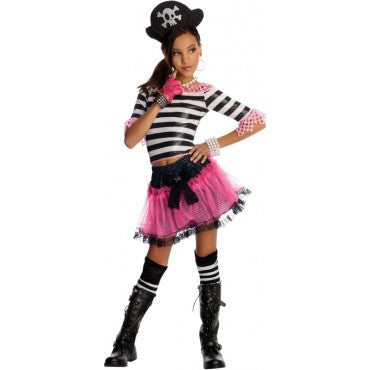 Girls Pirate Treasure Costume