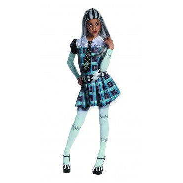 Girls Monster High Frankie Stein Costume