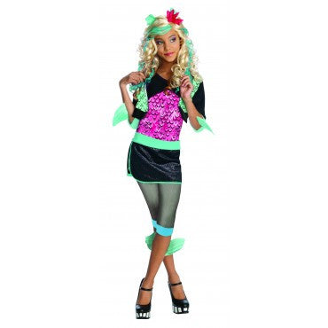 Girls Monster High Lagoona Blue Costume