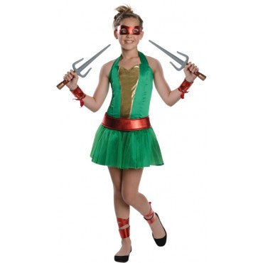 Teens Ninja Turtle Raphael Dress