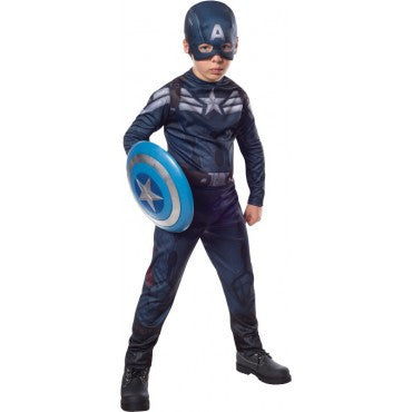 Boys Captain America Stealth Suit Costume
