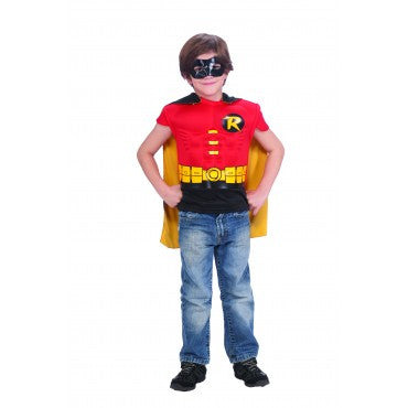 Boys Batman Robin Muscle Chest Shirt