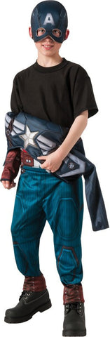 Boys 2-in-1 Reversible Stealth/Retro Captain America Costume