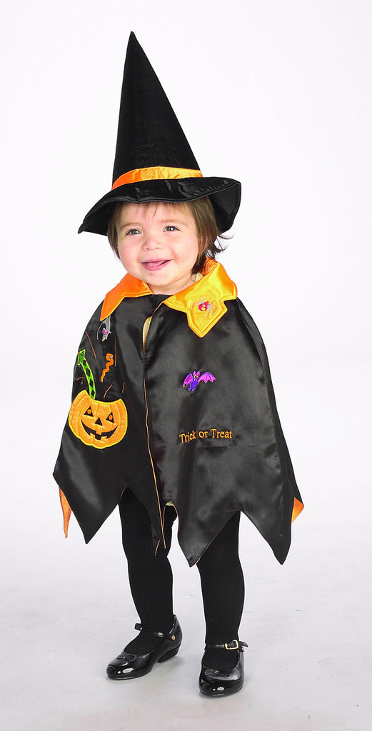 Toddler Pumpkin Cape