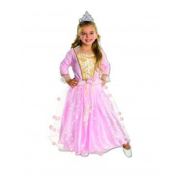 Girls Rose Princess Costume