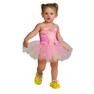 Girls Pink Ballerina Costume