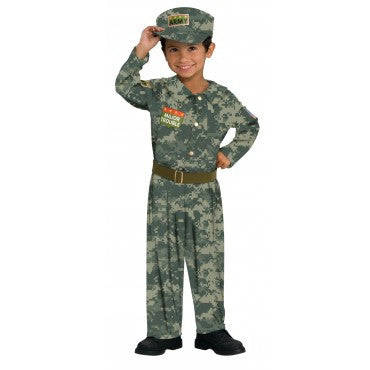 Boys Soldier Costume