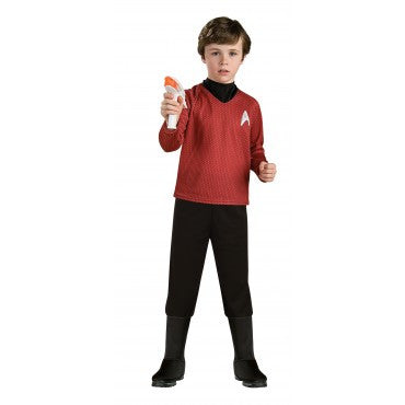 Boys Star Trek Deluxe Scotty Costume