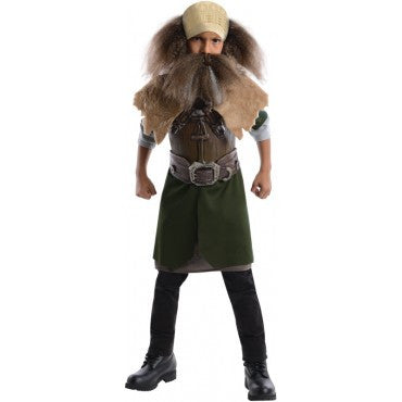 Boys The Hobbit Deluxe Dwalin Costume