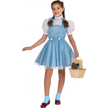 Girls Wizard of Oz Deluxe Dorothy Costume
