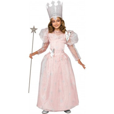 Girls Wizard of Oz Deluxe Glinda The Good Witch Costume