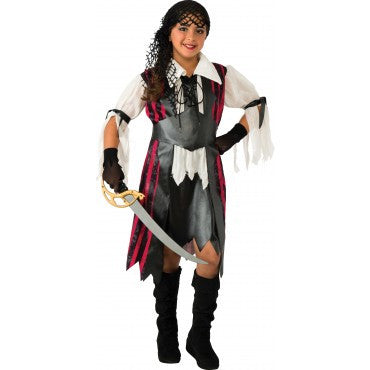 Girls Caribbean Pirate Costume