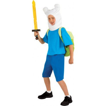 Boys Adventure Time Deluxe Finn Costume