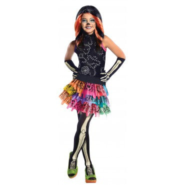 Girls Monster High Skelita Calaveras Costume