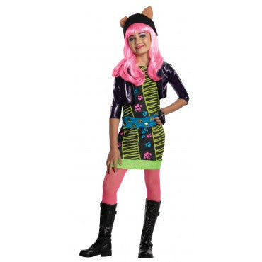 Girls Monster High Howleen Wolf Costume