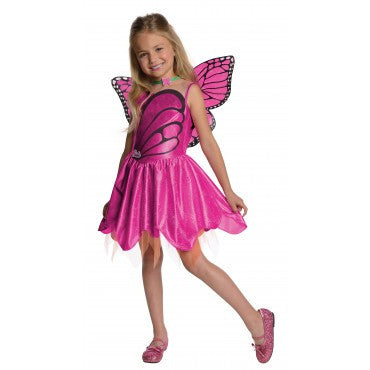 Girls Barbie Mariposa Costume