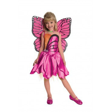 Girls Barbie Deluxe Mariposa Costume