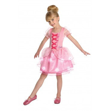 Girls Barbie Light Up Ballerina Costume