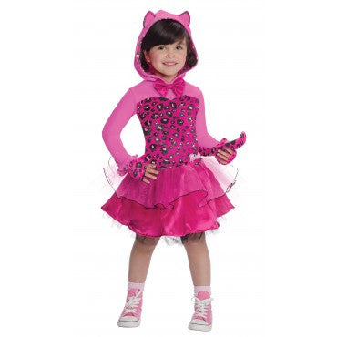 Girls Barbie Kitty Costume