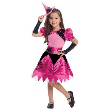 Girls Barbie Witch Costume