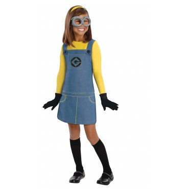 Girls Minion Dave Costume