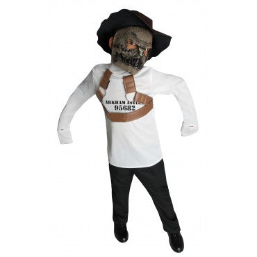 Boys Batman Scarecrow Straight Jacket Look Costume
