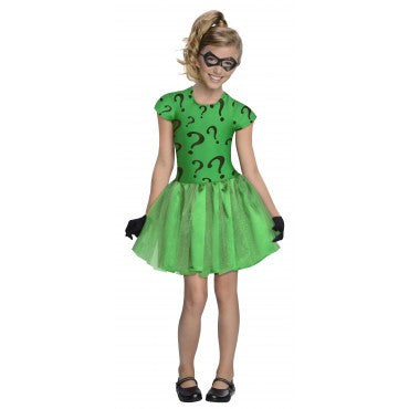 Girls Batman The Riddler Costume