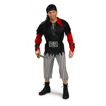 Mens Pirate King Costume