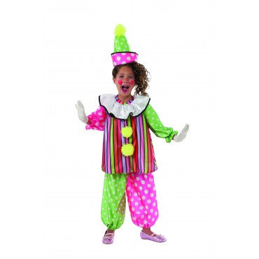 Girls Giggles the Clown Costume