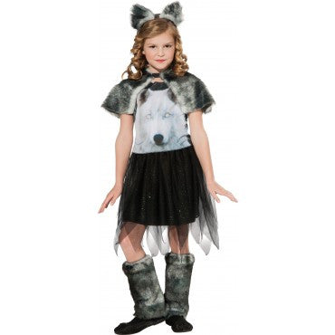 Girls Wolf of the Dawn Costume