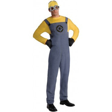Mens Minion Dave Costume