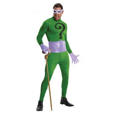Mens Batman The Riddler Costume - Grand Heritage Collection