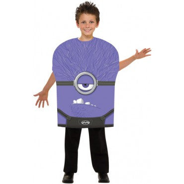 Kids Evil Minion Costume